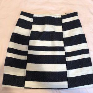 Loft striped skirt